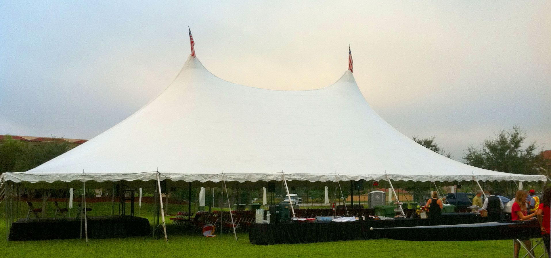 Stretch tents are a perfect choice for the festivals
